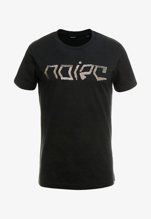 T-DIEGO-BAGH T-SHIRT - T-shirt con stampa - black