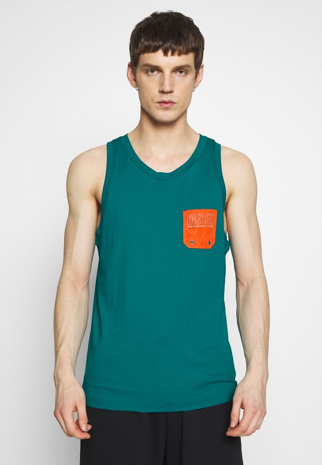 BMOWT LOCO SINGLET - Top - green