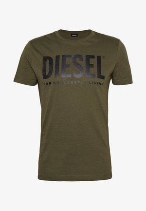 T-DIEGO-LOGO T-SHIRT - T-shirt imprimé - khaki