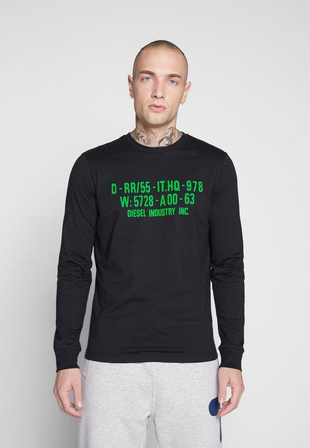 DIEGO - Pitkähihainen paita - black