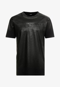 Diesel - T-JUST-J1 T-SHIRT - Camiseta estampada - black - 3