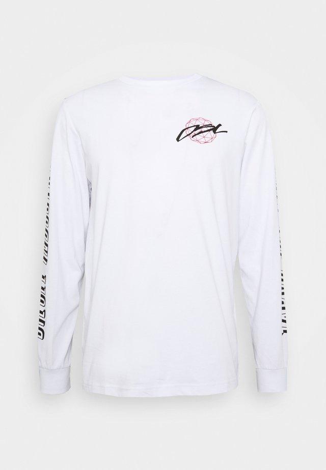 T-JUST-LS-X92 T-SHIRT - Pitkähihainen paita - white