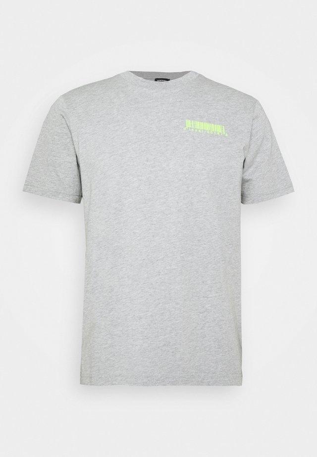 T-JUST-SLITS-X84 T-SHIRT - T-shirts print - grey melange