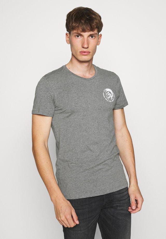 UMTEE RANDALTHREEPACK - T-shirt con stampa - black/green/grey