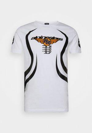 ASTARS DIEGOS - T-shirt print - white