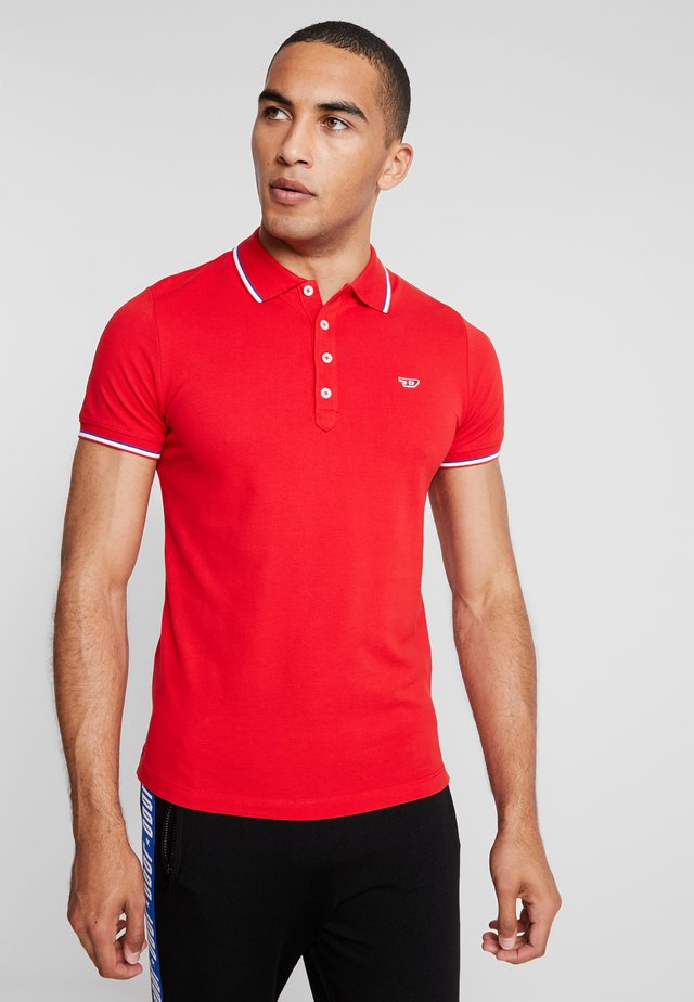 T-RANDY-NEW POLO SHIRT - Poloshirt - red