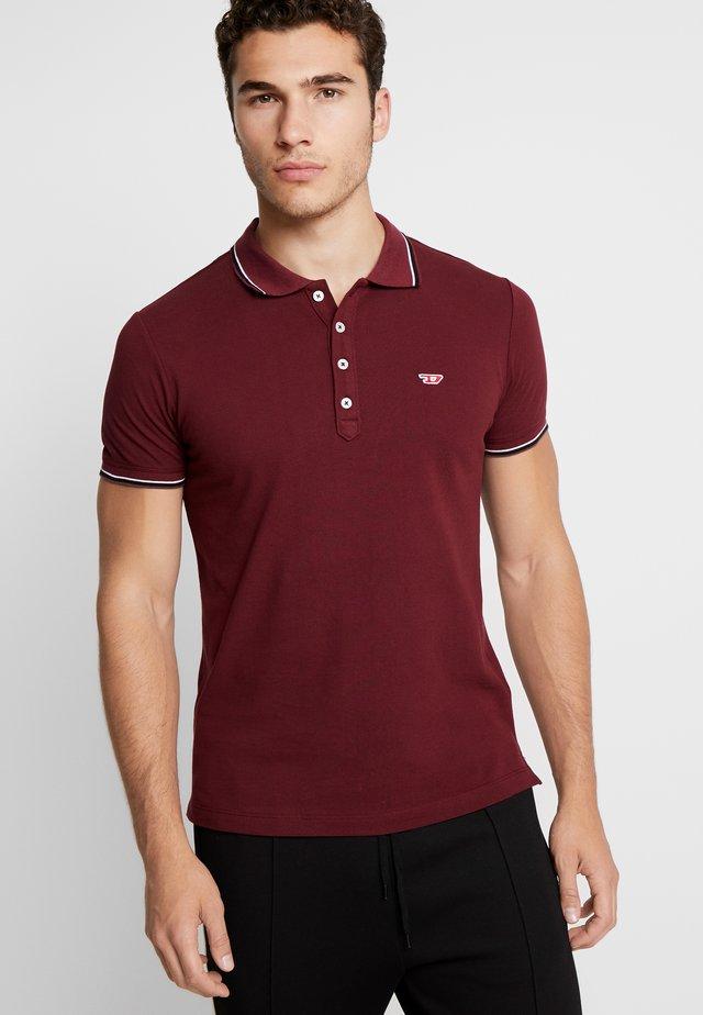 T-RANDY-NEW POLO SHIRT - Poloshirt - burgundy red