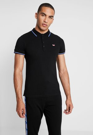 T-RANDY-NEW POLO SHIRT - Pikeepaita - black