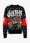 K-SUP PULLOVER - Sweter - black