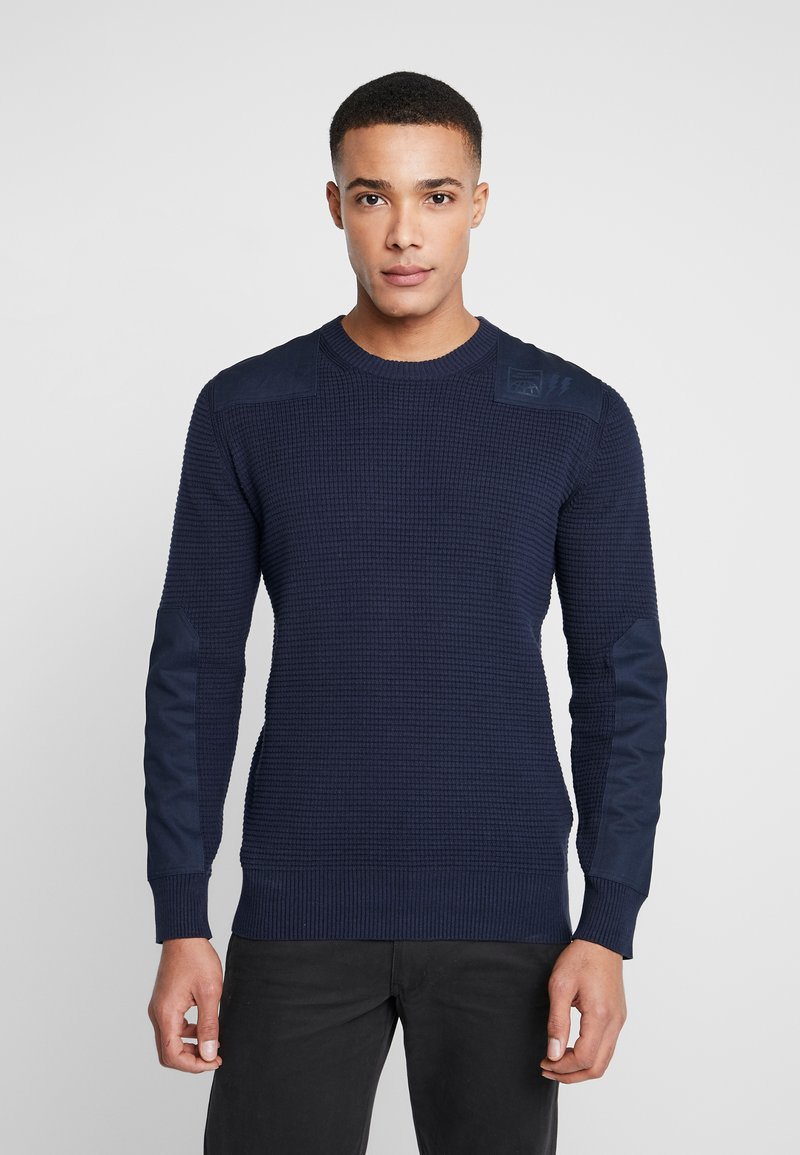 Diesel - K-LESTER  - Pullover - dark blue