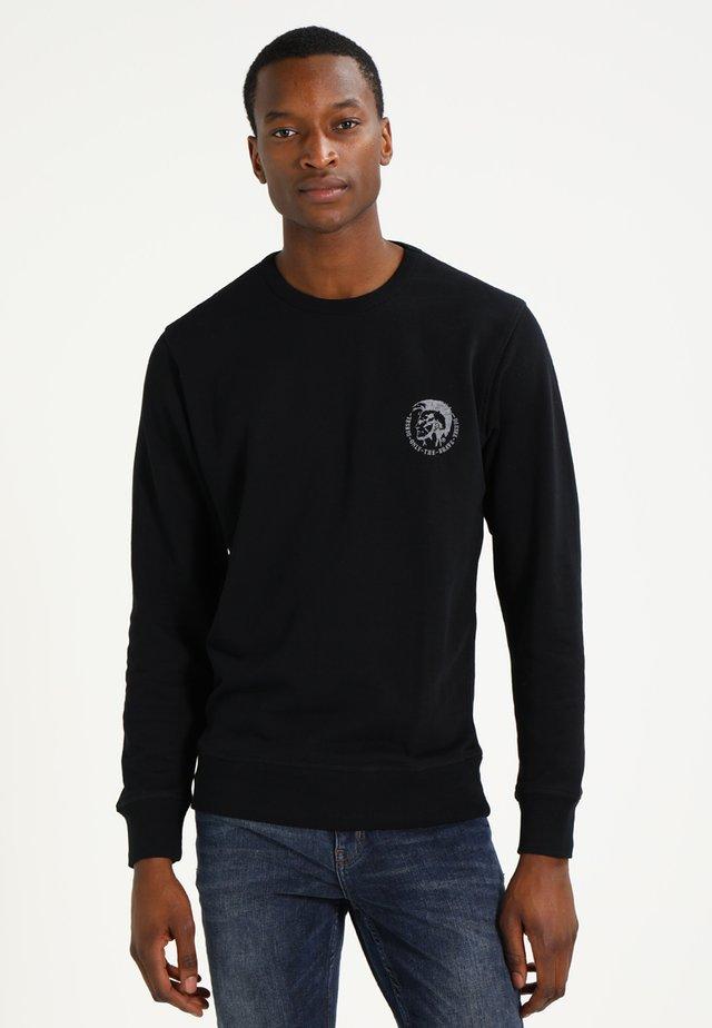 UMLT-WILLY SWEAT-SHIRT - Sweatshirt - schwarz