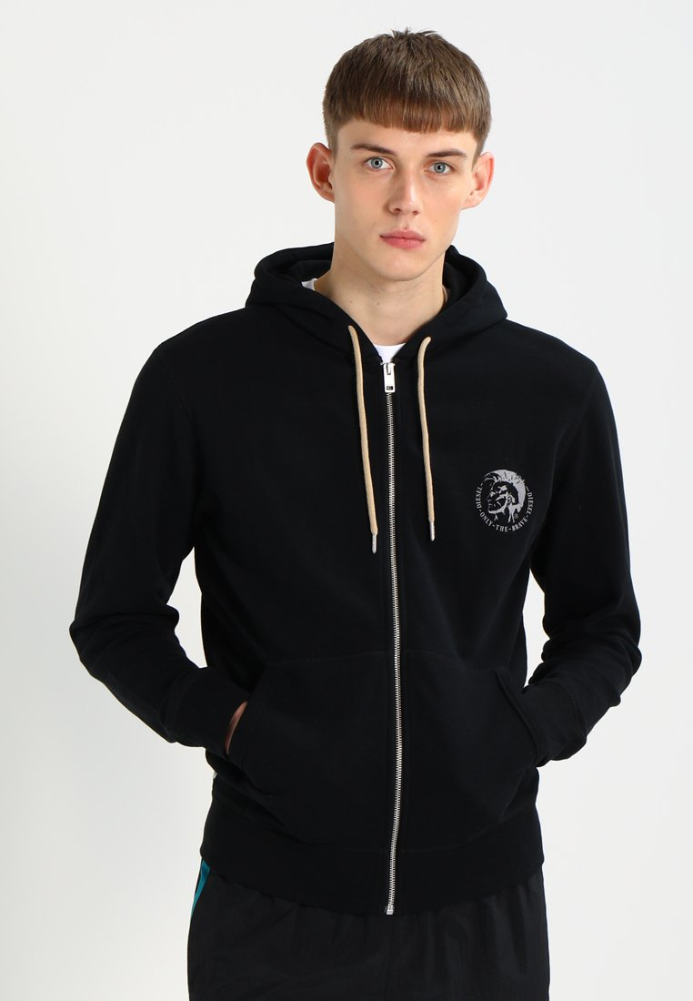 Diesel - UMLT-BRANDON-Z SWEAT-SHIRT - veste en sweat zippée - schwarz