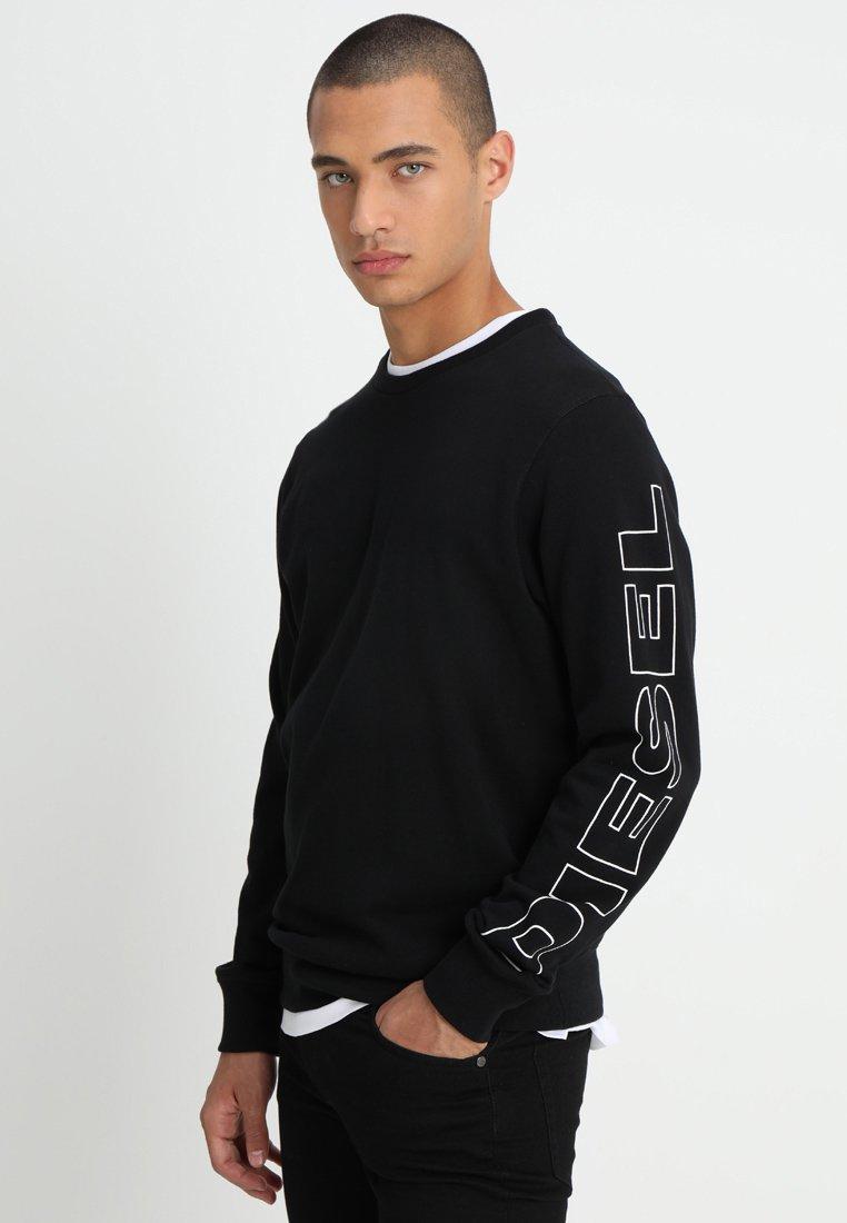 Diesel - WILLY - Sweatshirt - schwarz