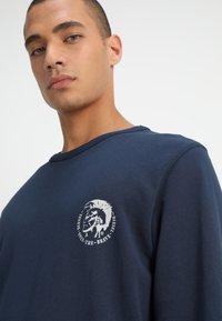 Diesel - UMLT-WILLY SWEAT-SHIRT - Sweater - blau - 4