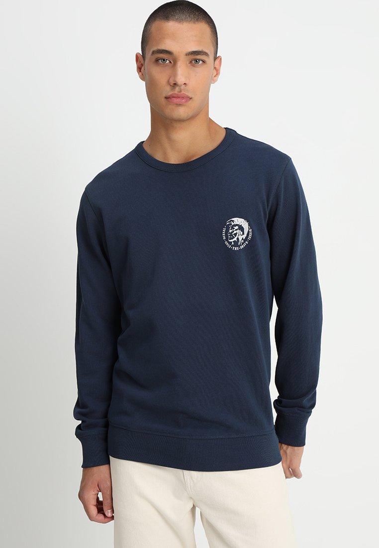 Diesel - UMLT-WILLY SWEAT-SHIRT - Sweater - blau