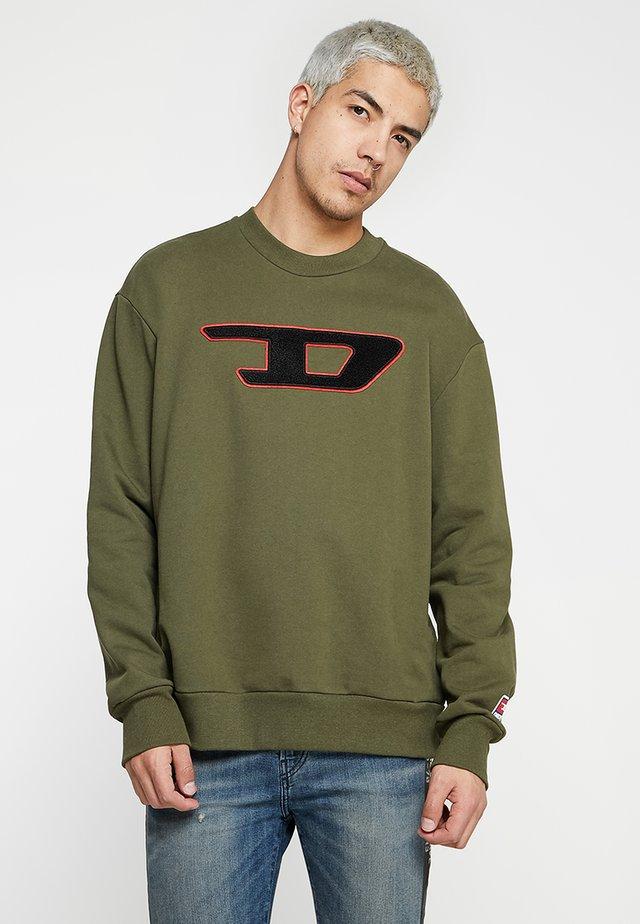 CREW DIVISION - Sweater - olive