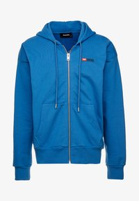 Diesel - S-ALBY-ZIP-DIV SWEAT-SHIRT - veste en sweat zippée - blue - 4