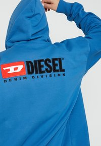 Diesel - S-ALBY-ZIP-DIV SWEAT-SHIRT - veste en sweat zippée - blue