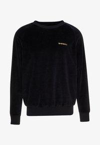 Diesel - UMLT MAX SWEAT SHIRT - Sweatshirt - black - 3