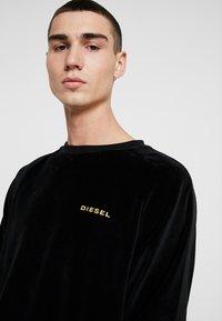 Diesel - UMLT MAX SWEAT SHIRT - Sweatshirt - black - 4