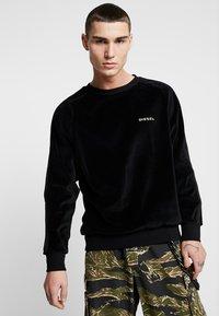 Diesel - UMLT MAX SWEAT SHIRT - Sweatshirt - black - 0
