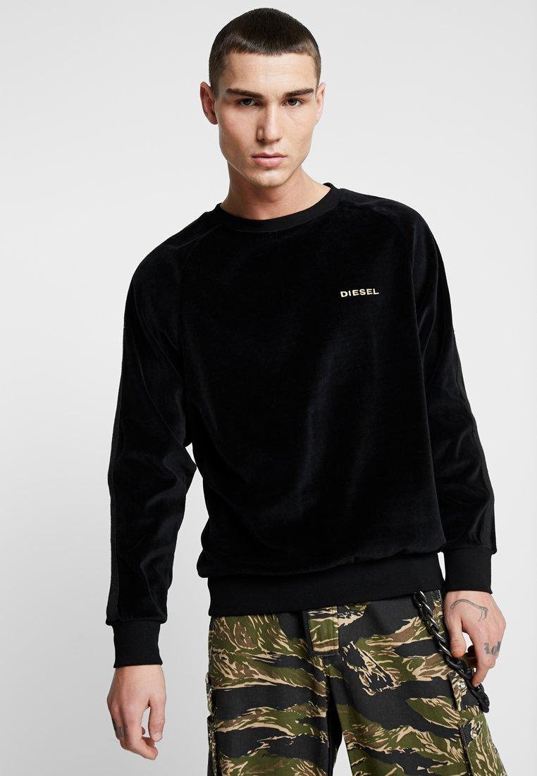 Diesel - UMLT MAX SWEAT SHIRT - Sweatshirt - black