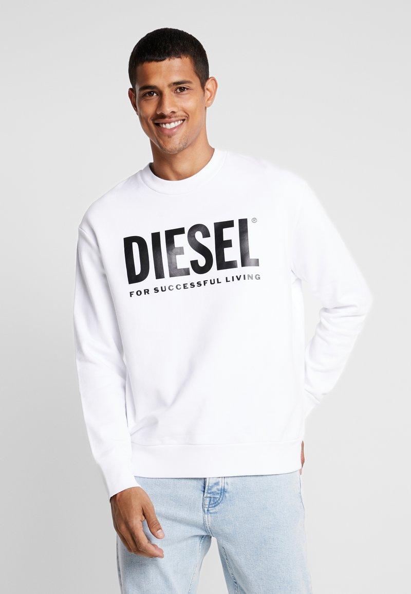 Diesel - S-CREW-DIVISION-LOGO - Sweatshirt - white