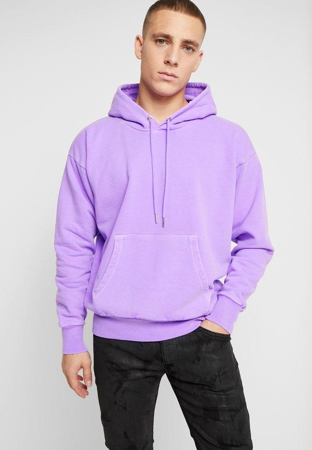 S-ALBY-FLUO SWEAT-SHIRT - Huppari - purple