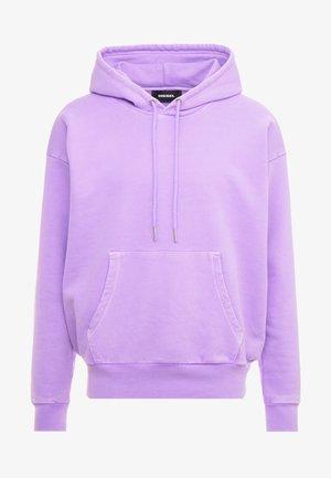 S-ALBY-FLUO SWEAT-SHIRT - Jersey con capucha - purple