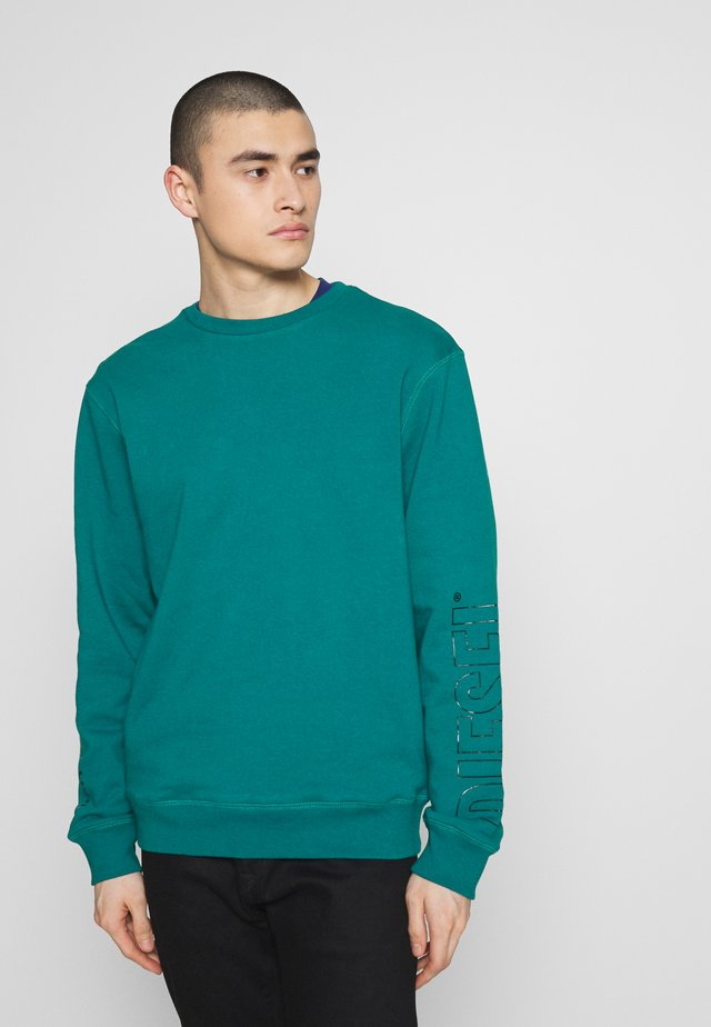 UMLT-WILLY SWEAT-SHIRT - Sweater - green