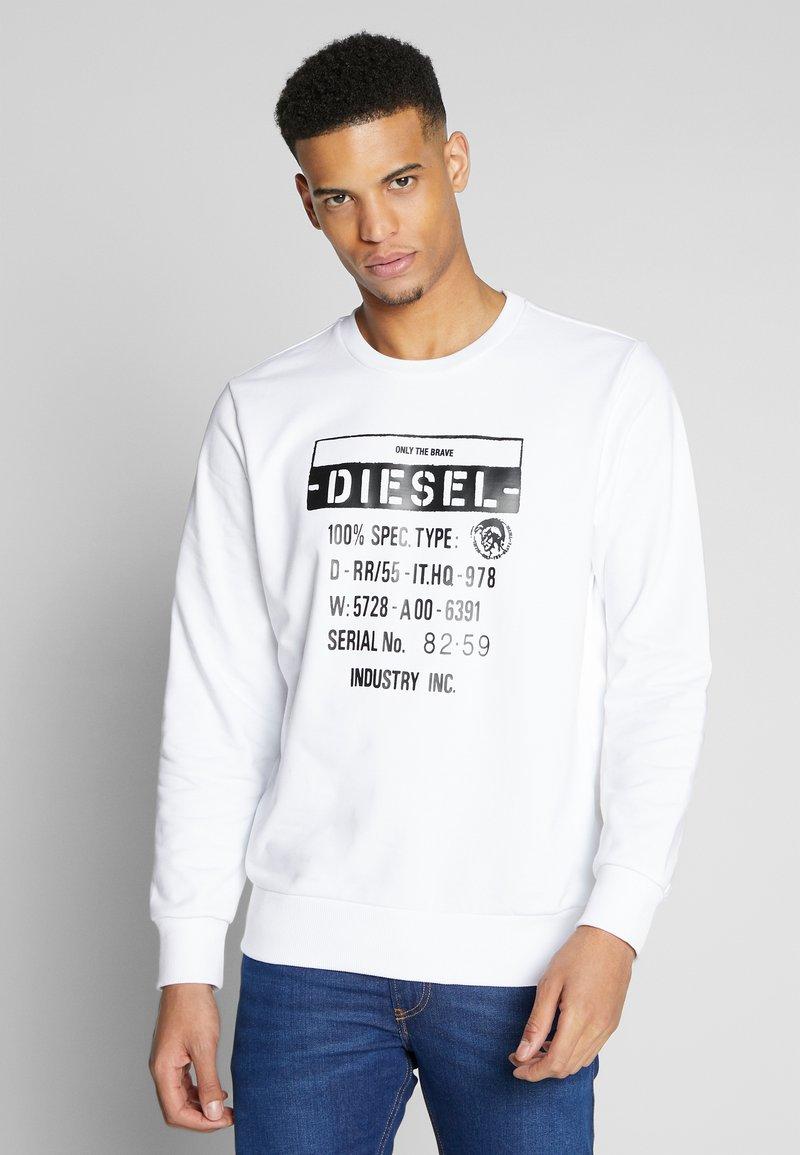 Diesel - GIRK - Collegepaita - white
