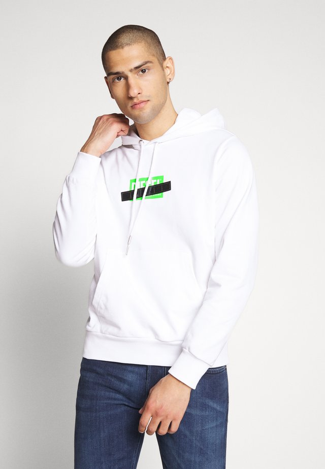S-GIRK-HOOD-S1 SWEAT-SHIRT - Huppari - white