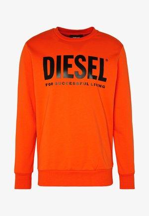 GIR DIVISION LOGO - Sweatshirt - orange