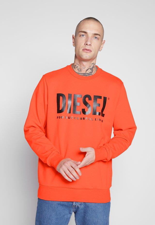 GIR DIVISION LOGO - Sweater - orange