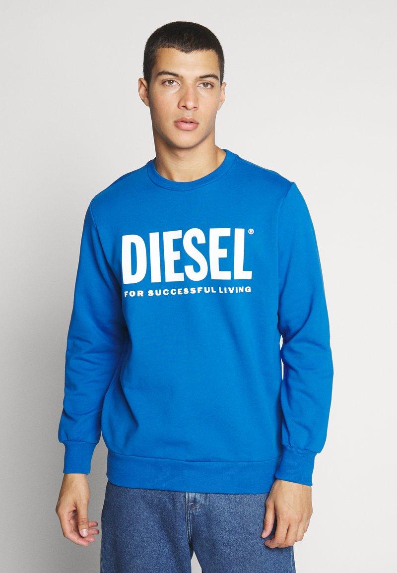 Diesel - GIR DIVISION LOGO - Collegepaita - blue