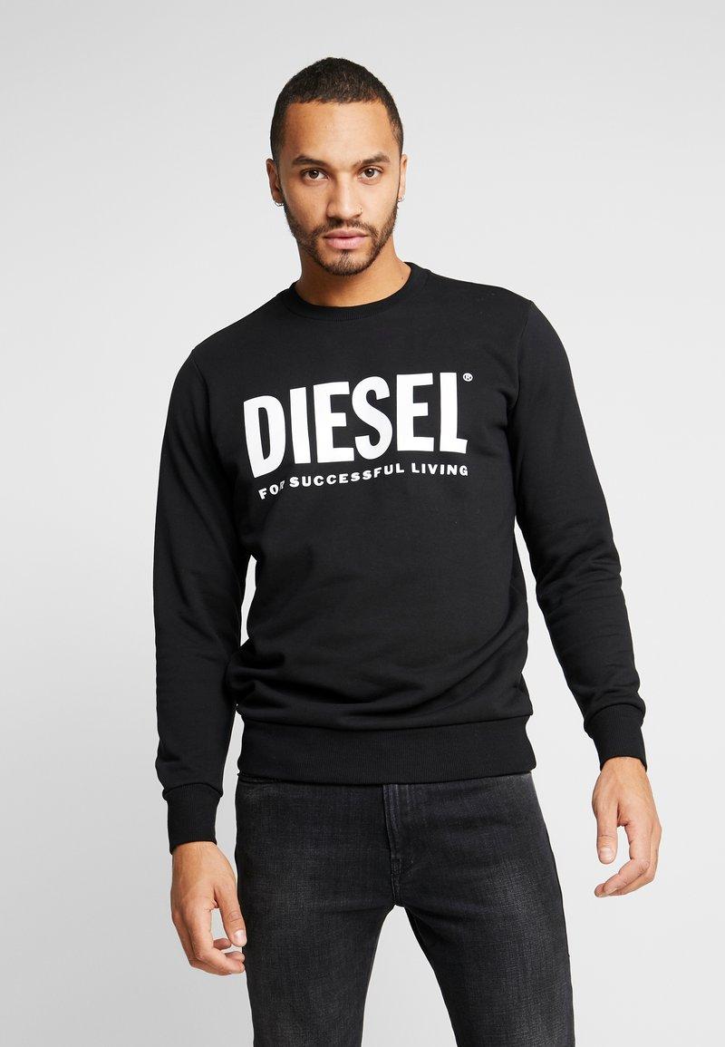 Diesel - GIR DIVISION LOGO - Mikina - black