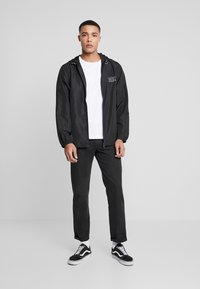 Diesel - BMOWT-WINDY-FG JACKET - Větrovka - black - 1