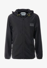 Diesel - BMOWT-WINDY-FG JACKET - Větrovka - black - 3