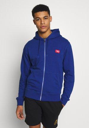 BRANDON - Zip-up hoodie - blue