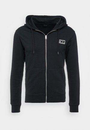 BRANDON - Zip-up hoodie - black