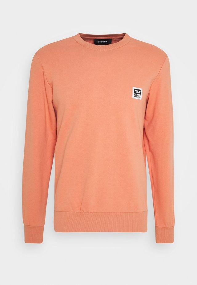 S-GIRK-K12 SWEAT-SHIRT - Sweatshirt - salmon