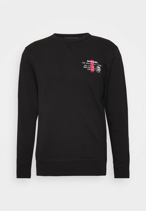 WILLY SWEAT-SHIRT - Felpa - black