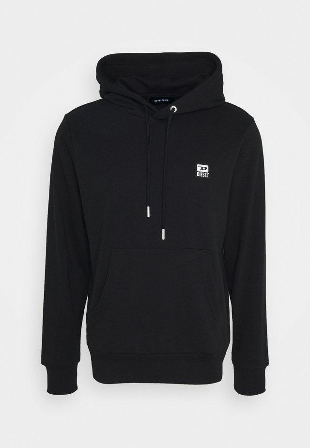 S-GIRK-HOOD-K21-SHIRT - Jersey con capucha - black