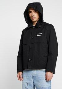 Diesel - J-KODORY JACKET - Krátký kabát - black - 4