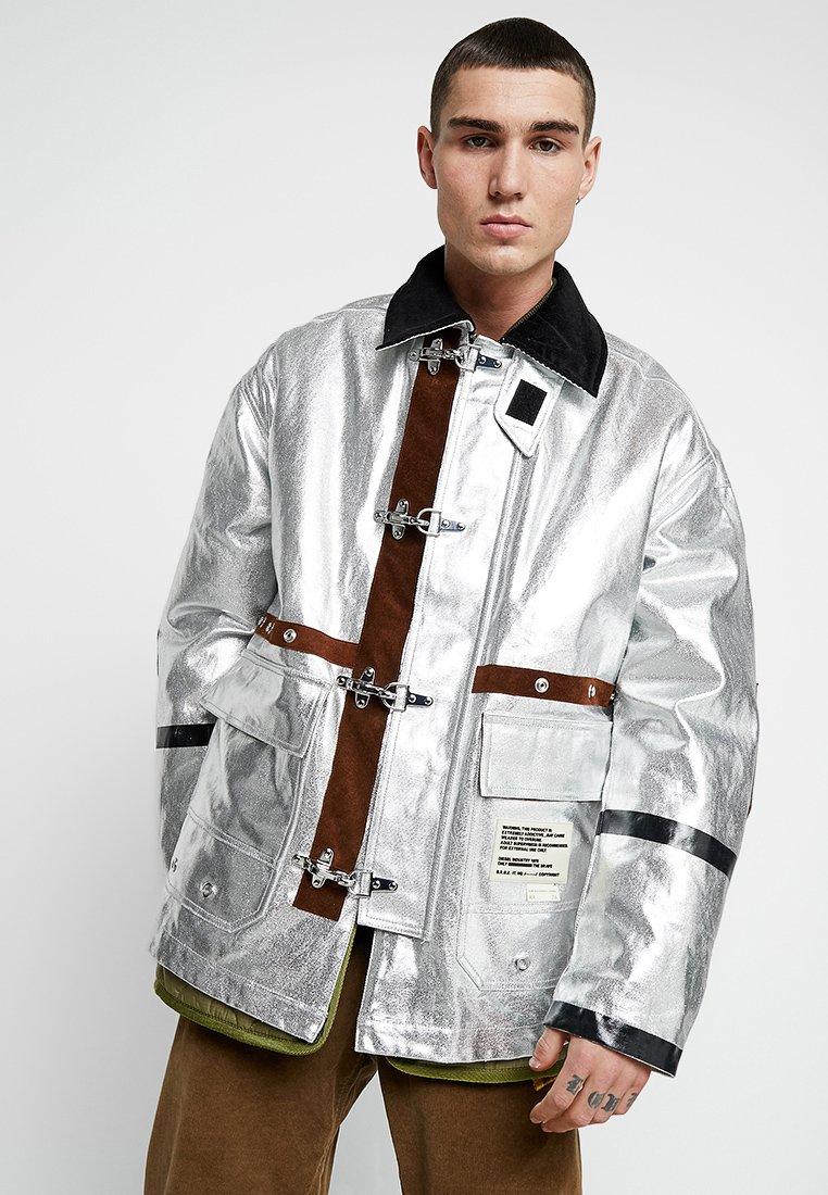 Diesel - J-ZUV JACKET - Winter jacket - silver