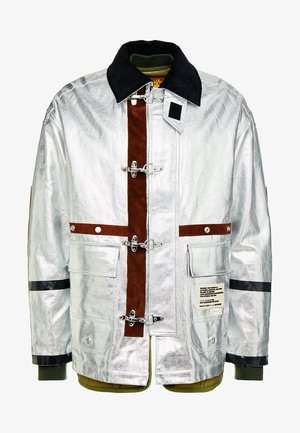 J-ZUV JACKET - Zimní bunda - silver