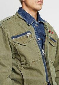 Diesel - D-MALLY JACKET - Denim jacket - indigo - 4