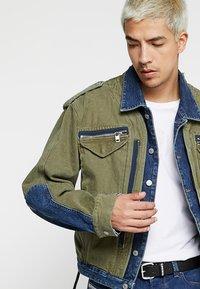 Diesel - D-MALLY JACKET - Denim jacket - indigo - 3