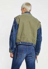 Diesel - D-MALLY JACKET - Denim jacket - indigo - 2