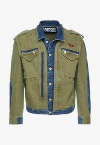 Diesel - D-MALLY JACKET - Denim jacket - indigo - 5